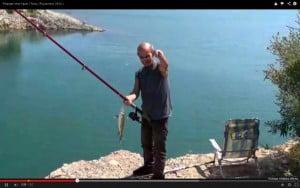 Ψάρεμα στην λίμνη Υλίκη- Άυγουστος 2014