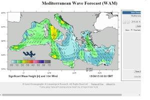 Μετεωρολογική πρόβλεψη- Ο φύλακας άγγελος των Ελληνικών θαλασσών