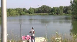 Έπιασε ψάρι με drone