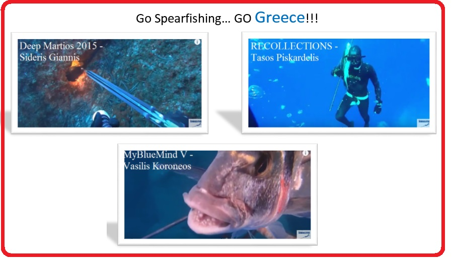 2ος Διεθνής Διαγωνισμός Υποβρύχιου Ψαρέματος με Ελληνικές συμμετοχές!