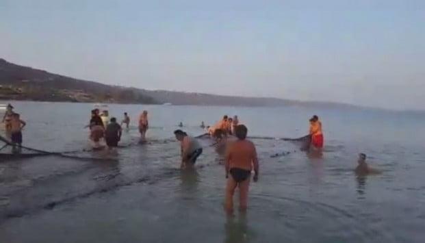 Το ψάρεμα πήρε απρόβλεπτη τροπή – Σήκωσαν τα δίχτυα και έμειναν έκπληκτοι