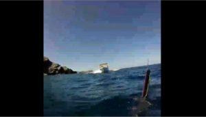 Παραλίγο τραγωδία σε θάλασσα της Κρήτης