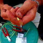 Αρματωσιά για βαθιά καθετή με φωσφορούχο σωληνάκι- Μπαλάδες