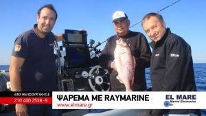Ψάρεμα με Raymarine για καλαμάρια και τσαούσια
