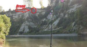 """Μακρινές """"βολές"""" στο ψάρεμα μας, με την βοήθεια Drone"""