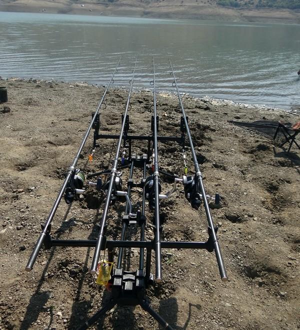 Με επιτυχία ο διαγωνισμός ψαρέματος στη λίμνη Σμοκόβου