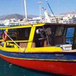 Ο καπετάν Μανώλης επιστρέφει από το ψάρεμα