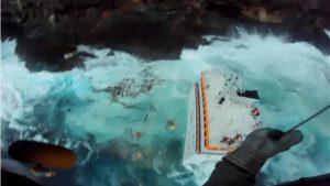 Ανέλκυση του ναυαγισμένου πλοίου «Cabrera»