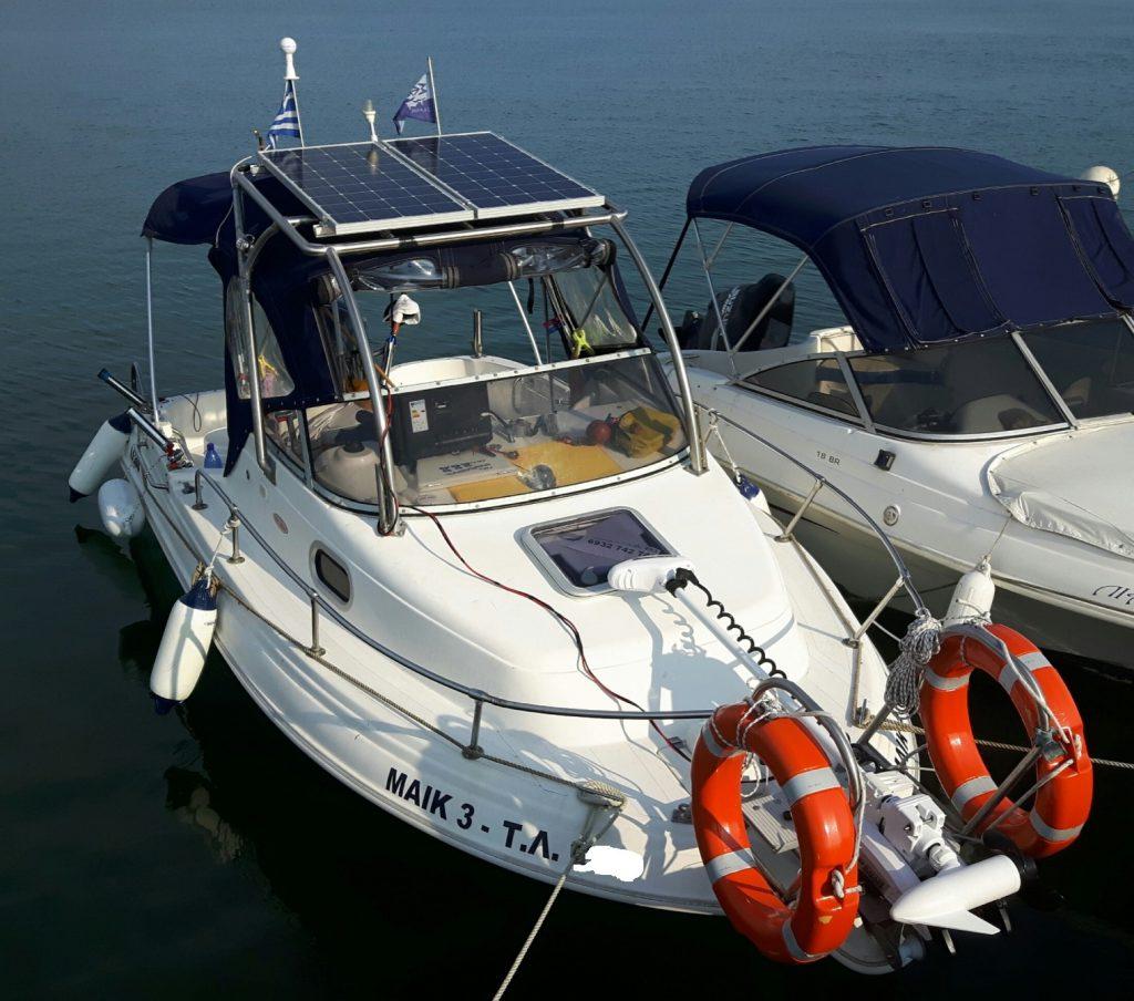 Minn kota (test) σε σκάφος AHELLAS 19 cabin και ψαρεματάκι!