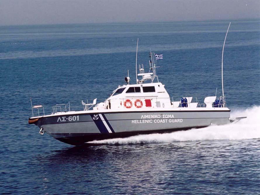 Βυθίστηκε σκάφος με δύο άτομα επιβαίνοντες στην Κύμη