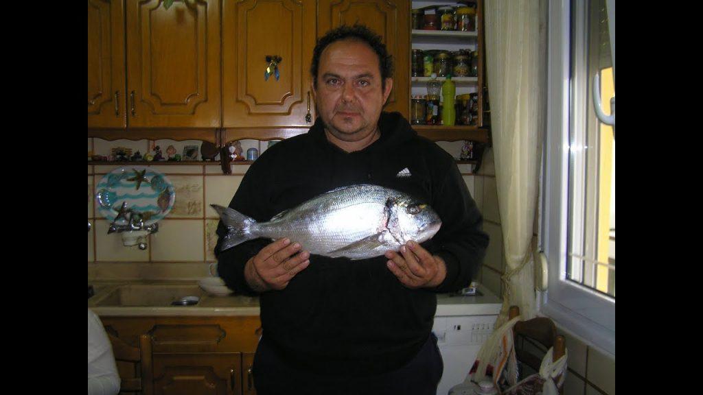 Ψάρεμα τσιπούρας- Νοέμβριος 2017