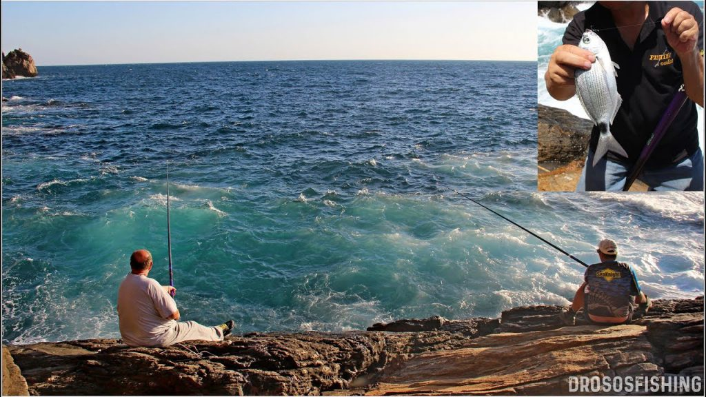Ψάρεμα απίκο στα βράχια
