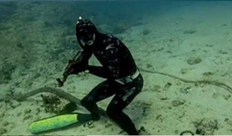 Ψαροντουφεκάς εντόπισε όπλο μέσα στην θάλασσα