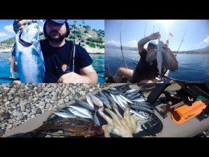 Διήμερο ψάρεμα με kayak στον κορινθιακό