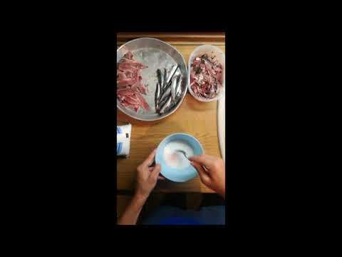Εγγλέζικο Ψάρεμα-Πως Επεξεργαζόμαστε Την Σαρδέλα/Match Fishing-How To Processing Sardina
